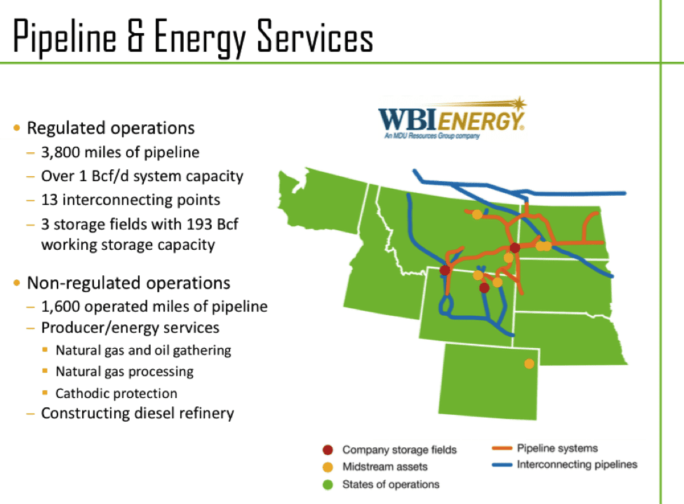 MDU Pipeline & Energy Services